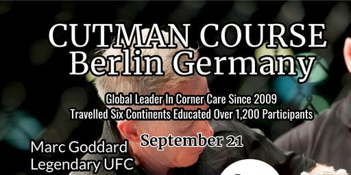 Cutman Course Berlin Germany