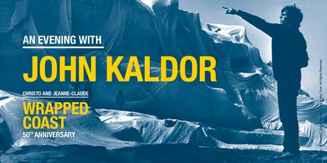 An Evening with John Kaldor — Christo and Jeanne-Claude's Wrapped Coast 50th Anniversary tickets