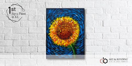 Sip & Paint Night : Van Gogh's Sunflower tickets