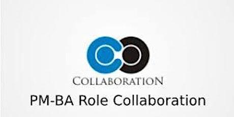 PM-BA Role Collaboration 3 Days Training in San Antonio, TX tickets