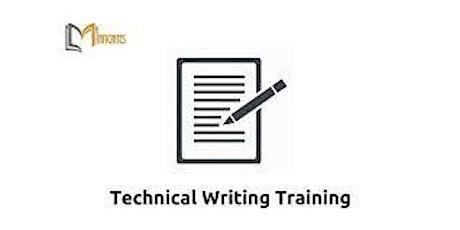 Technical Writing 4 Days Training in Boston, MA tickets