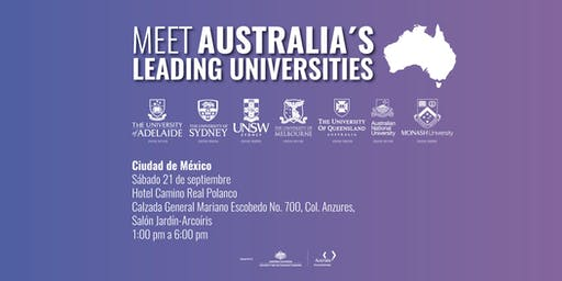 Meet Australia's Leading Universities in Mexico City 2019