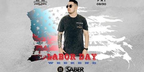 Headliner Music Club DJ Saber, Friday 8/30 tickets