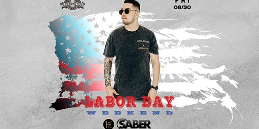 Headliner Music Club DJ Saber, Friday 8/30