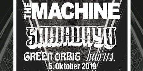 The Machine & Samavayo & Green Orbit & Hubris. Tickets
