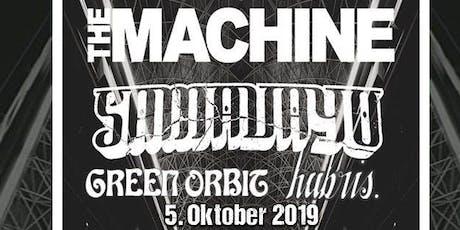 [Schüler/Student-Innen] The Machine & Samavayo & Green Orbit & Hubris. Tickets