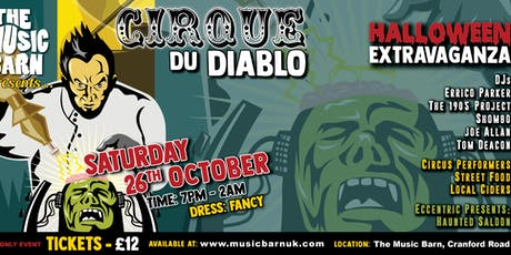 Cirque du Diablo, a Halloween Extravaganza tickets