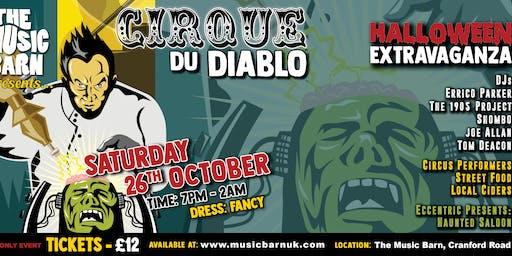 Cirque du Diablo, a Halloween Extravaganza