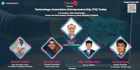 TIE-Fusion of Technology,Innovation & Entrepreneurship tickets