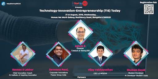 TIE-Fusion of Technology,Innovation & Entrepreneurship
