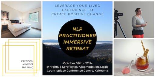 NLP Practitioner Immersive Retreat