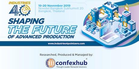 Industries 4.0 2019 tickets