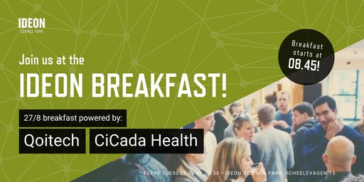 Ideon Breakfast - Powered by Qoitech and CiCada Health