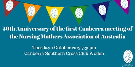 Australian Breastfeeding Association Canberra 50th Anniversary Celebration tickets