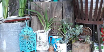 Upcycled Planters and Quirky Container Gardening
