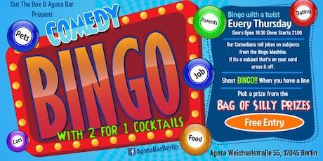 Comedy Bingo tickets