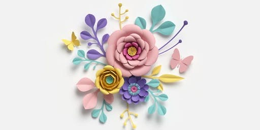Making Paper Flowers @ Warragul Library