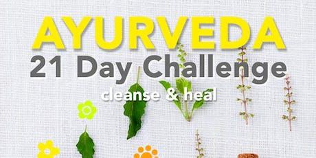 21 Day Ayurveda Challenge tickets