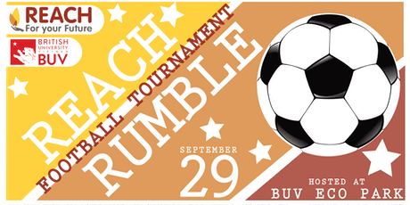 REACH Rumble Football Tournament billets