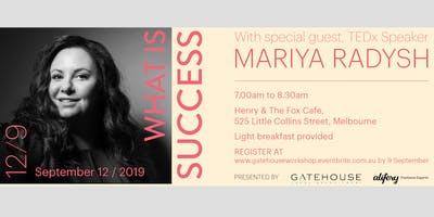 What is Success? Workshop