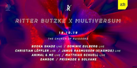 Ritter Butzke x Multiversum by Comport at ADE tickets