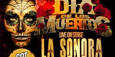 La Sonora Dinamita full band from Colombia. Dia de los Muertos Nov 2