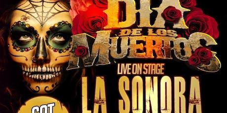 La Sonora Dinamita full band from Colombia. Dia de los Muertos Nov 2 tickets