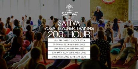 Yoga Teacher Training in Rishikesh, India - RYS 200, 300, 500 tickets