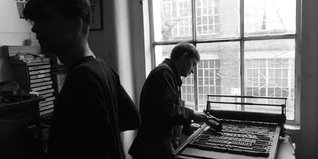 Introduction to Letterpress with 'The Printer's Devil' tickets