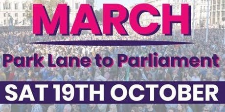 Let Us Be Heard 19/10 - register interest for coach from Norfolk tickets
