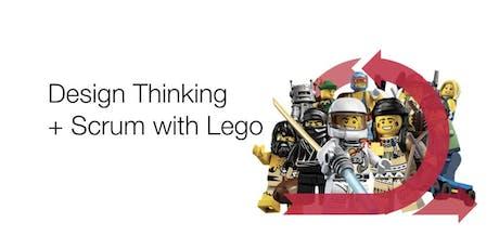 Design Thinking  + Scrum with Lego tickets