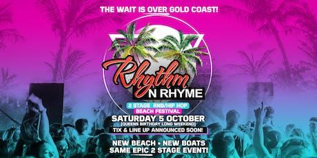 Rhythm N Rhyme Island/Boat Festival I GOLDCOAST tickets