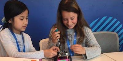 Einmaliger Workshop für Mädchen: Robotics