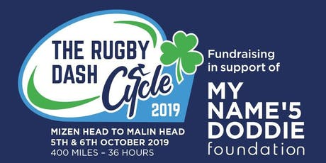 The Rugby Dash - Cycle from Mizen Head to Malin Head. 400 miles in 36 hours tickets