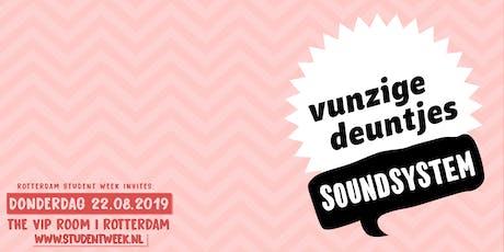 RSW invites Vunzige Deuntjes Soundsystem tickets