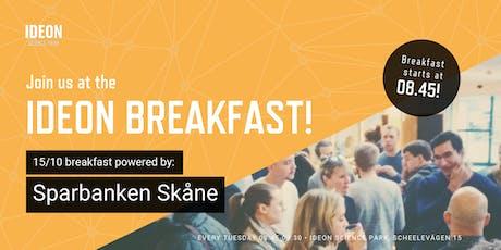 Ideon Breakfast - Powered by Sparbanken Skåne tickets
