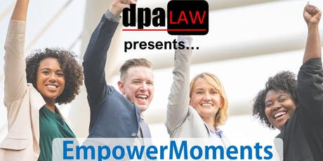 DPA Law EmpowerMoment with Rosie Jones tickets