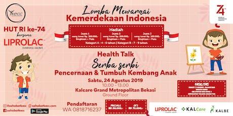 Health Talk dan Lomba Mewarnai Kemerdekaan Indonesia tickets