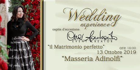 WEDDING experience tickets