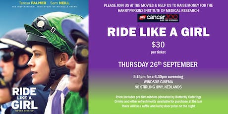'Ride Like a Girl' movie fundraiser tickets