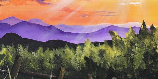 Purple Daze Brush Party - Marlow