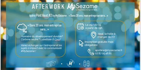 Afterwork MySezame - business à impact billets