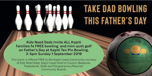 TAKE DAD BOWLING THIS FATHER'S DAY!