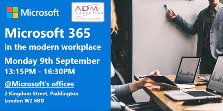 Microsoft 365 in the modern workplace tickets