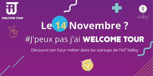 Welcome Tour Étudiants #9 - 14 novembre 2019