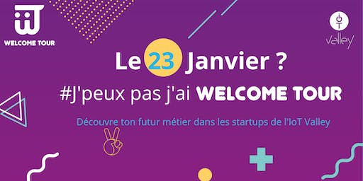 Welcome Tour Étudiants #10 - 23 janvier 2020