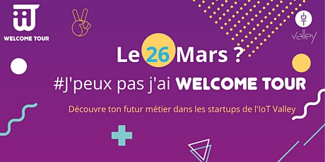 Welcome Tour Étudiants #12 - 26 mars 2020 tickets