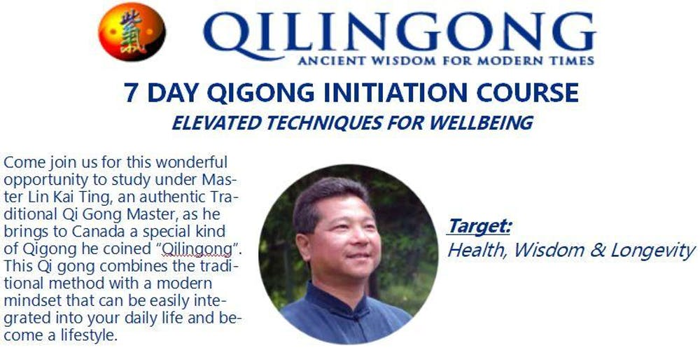 7 Day Qi Gong Initiation Course - Elevated Techniques for