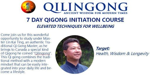 7 Day Qi Gong Initiation Course - Elevated Techniques for Wellness