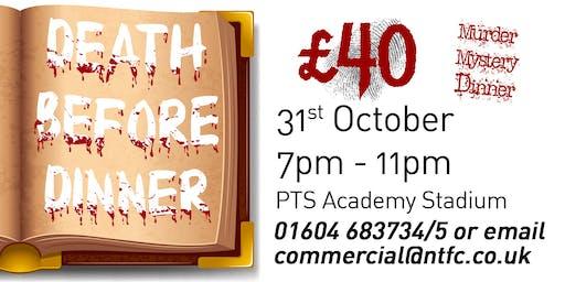 Death Before Dinner - a murder mystery dinner!